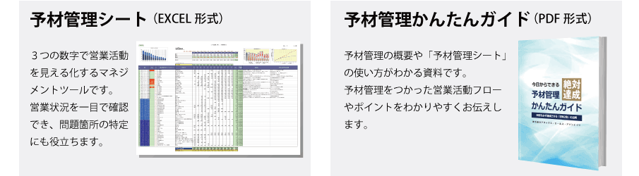 KPI管理フォーマットダウンロード